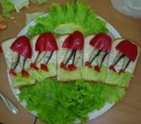 Бутерброды Бегом за подарками