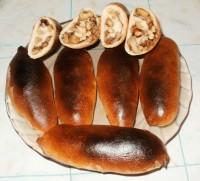 Рулетики с грецким орехом