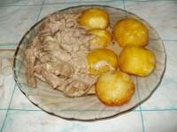 Молодая картошечка запеченная с маслом