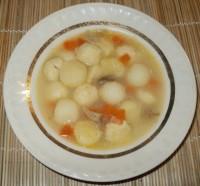 Куриный суп с клецками (Вариант 2)