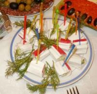 Закуска Фаршированные крабовые палочки (вариант 1)