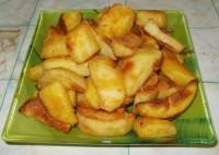 Картошка запеченная в золотистой корочке