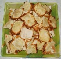 Чипсы из лаваша и сыра