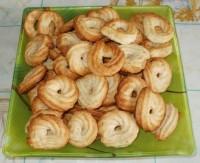 Песочное печенье Ореховые завитки