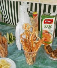 Палочки-хрустяшки с колбасным копченым сыром