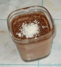 Стаканчики с французским шоколадным кремом