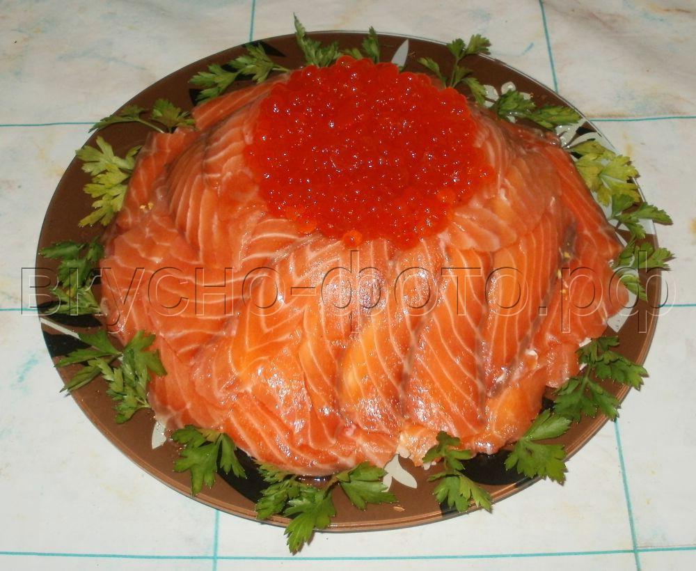 салат рыбацкая удача рецепт