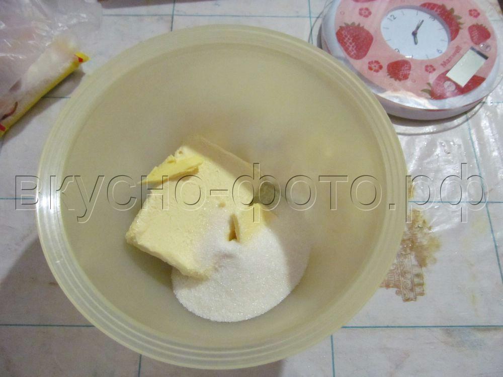 Кокосовое песочное печенье