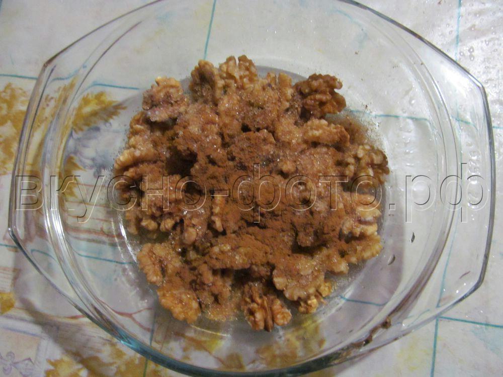 Грецкие орешки в ароматной карамели