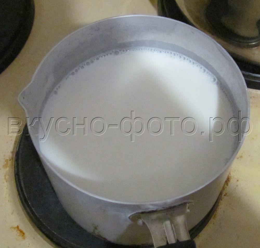 atМолочный суп с клецками