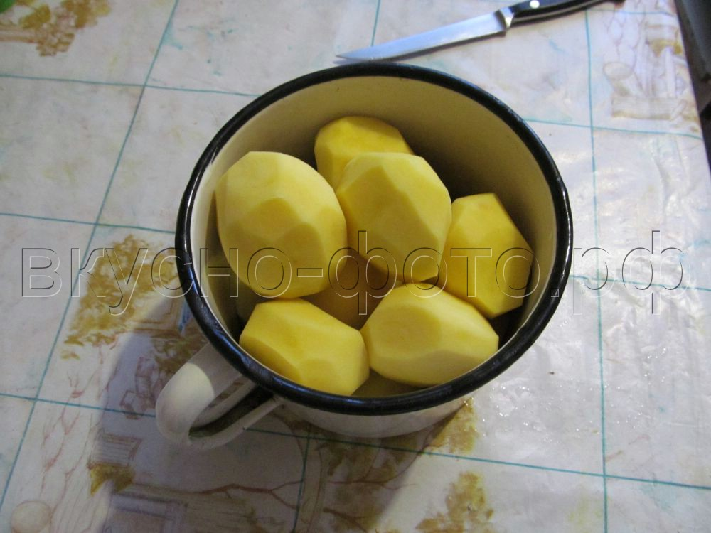 Картошка под шубой