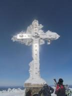 Шерегеш Март 2013 года Поездка на Поклонный крест