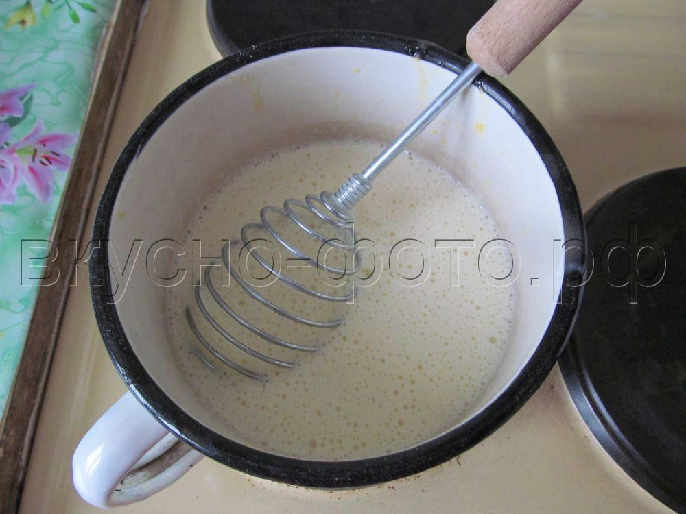 Торт из печенья по польски без выпечки