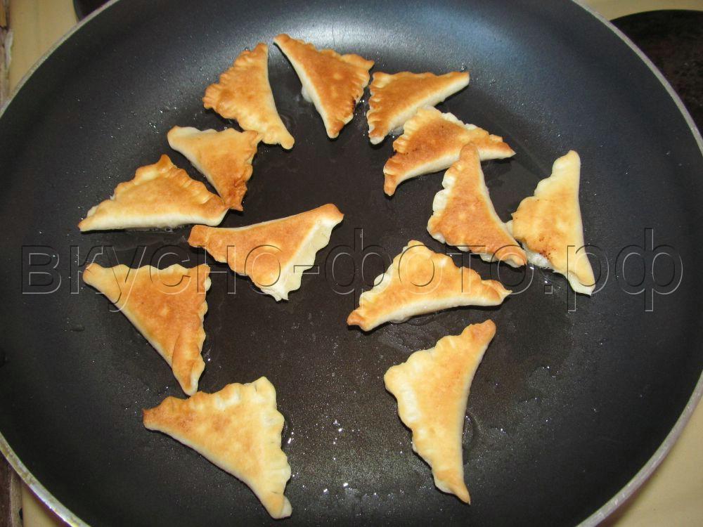 Треугольнички с творогом
