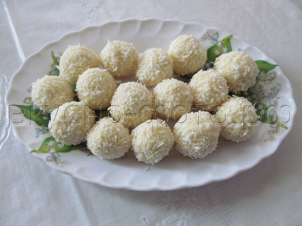Домашние рафаэлло самый простой рецепт