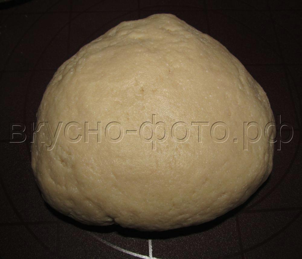 Песочное тесто с творогом
