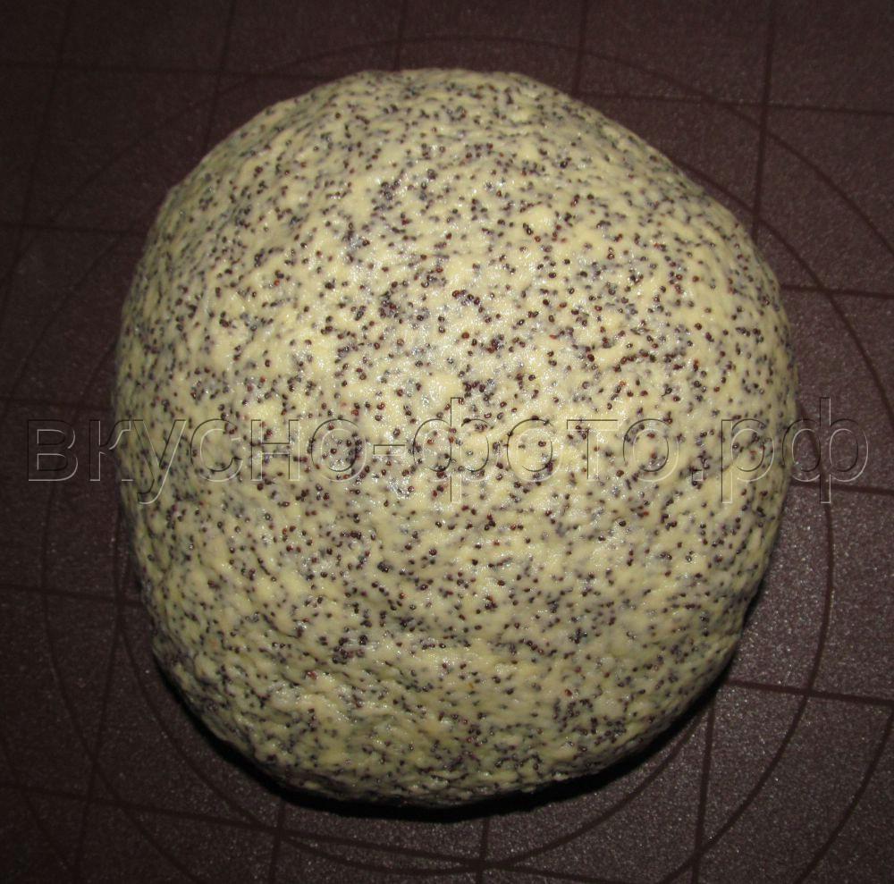 Песочное тесто со сметаной и маком