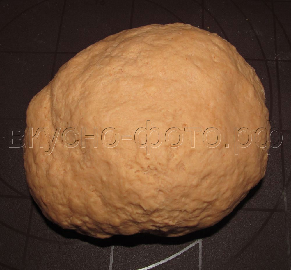 Томатное пельменное тесто