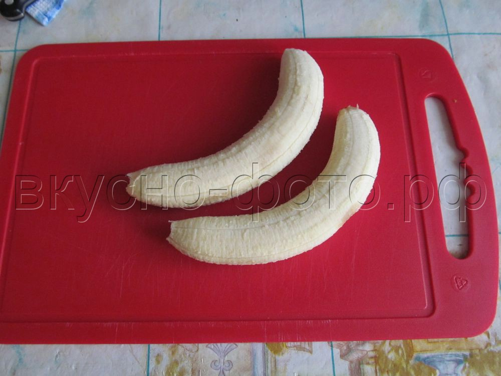 Мягкое бананово йогуртовое мороженое