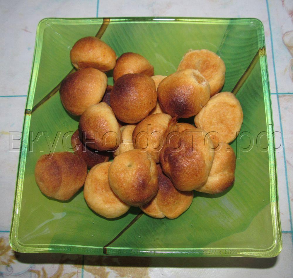 Закусочные мини пирожки с оливками
