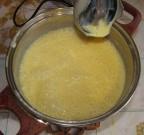 Заварной крем со сгущенным молоком и сливочным маслом