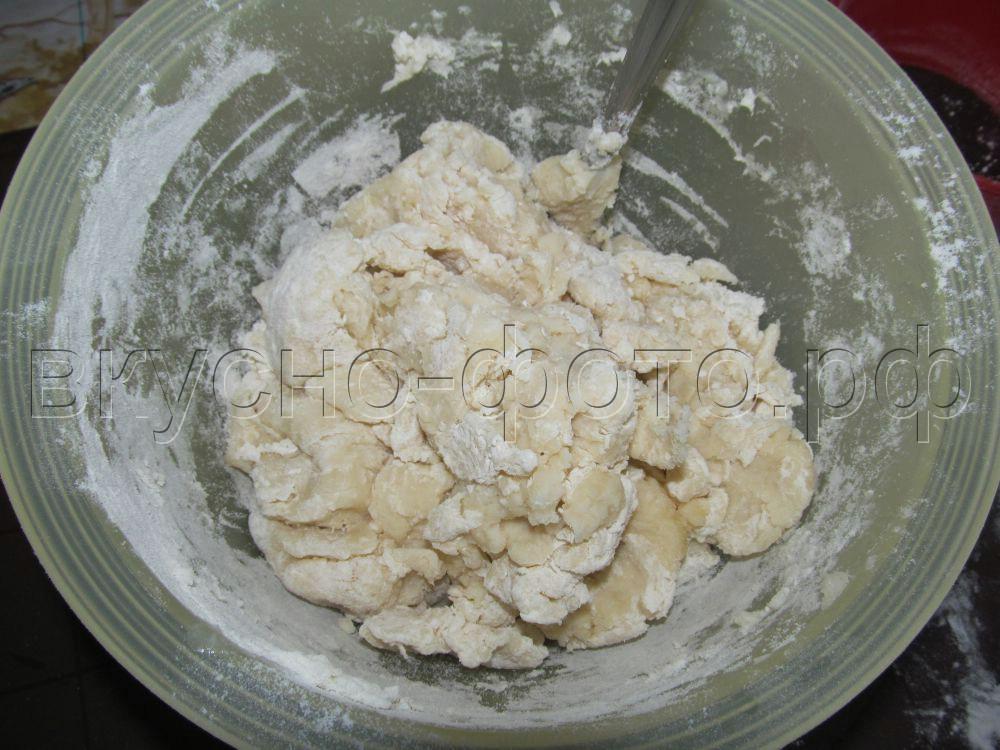 Заварное пельменное тесто