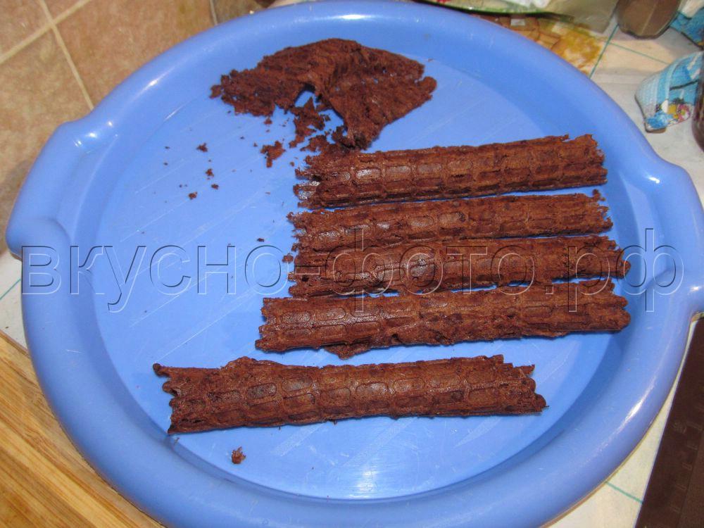 Шоколадные вафли