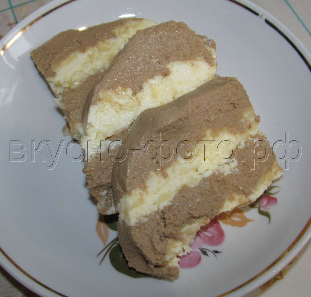 Нежный печеночный паштет с сырной прослойкой