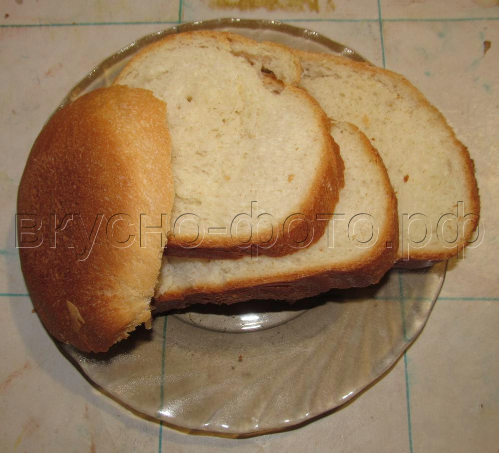 Молочный хлеб в хлебопечке VITEK VT 1991 ST