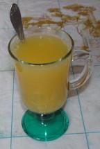 Имбирный апельсиновый чай