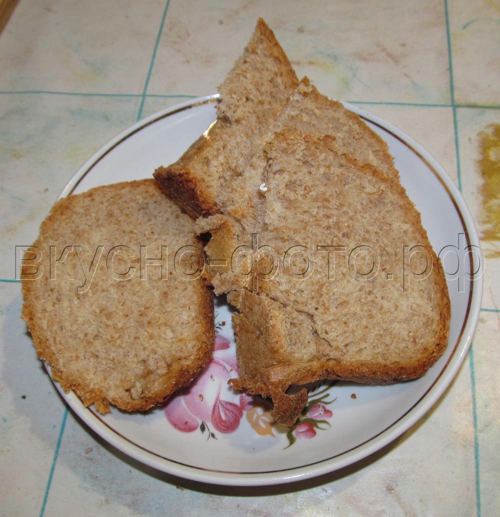 Пшенично-отрубной хлеб в хлебопечке VITEK VT-1991 ST