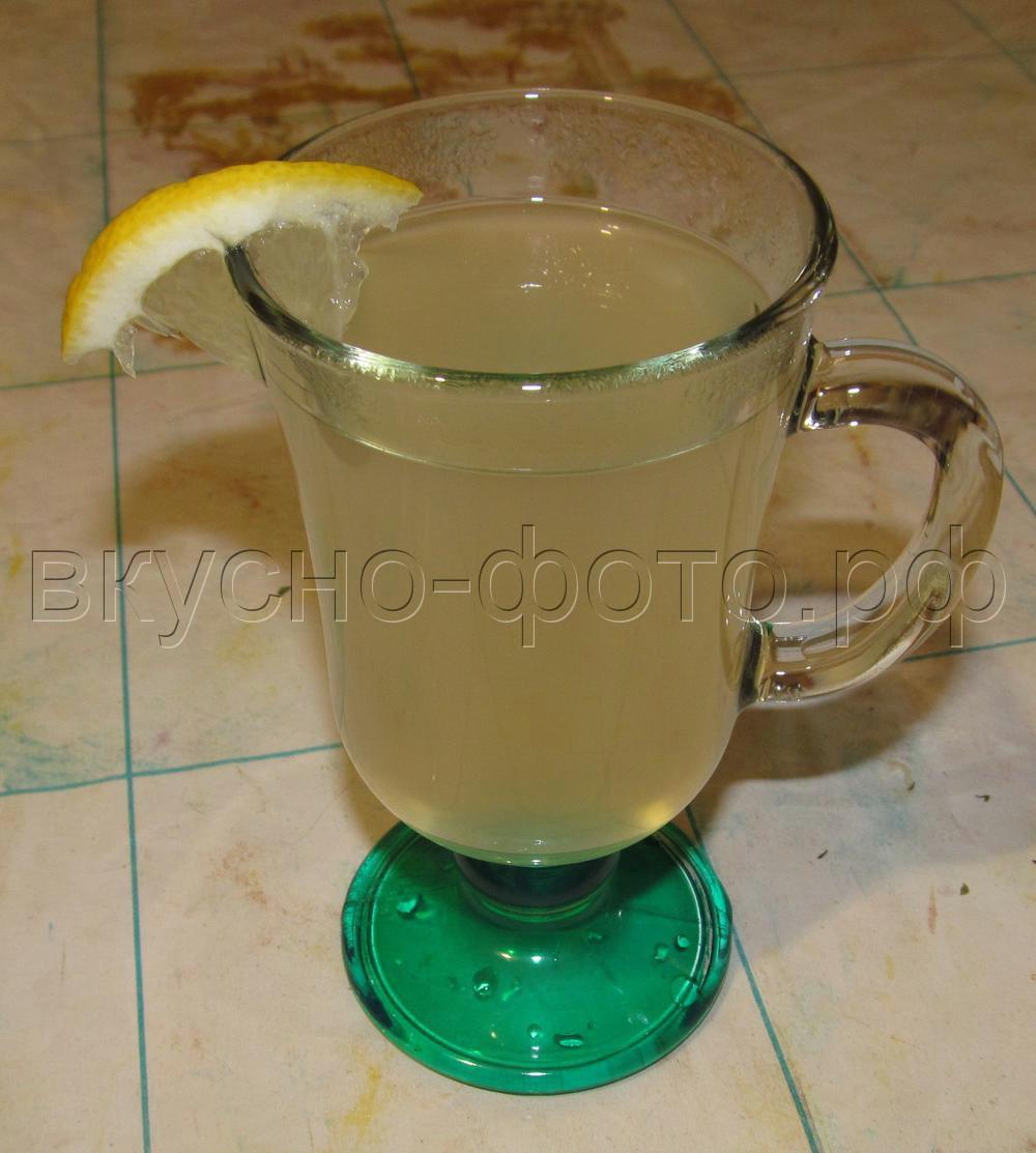 Мятно имбирный чай