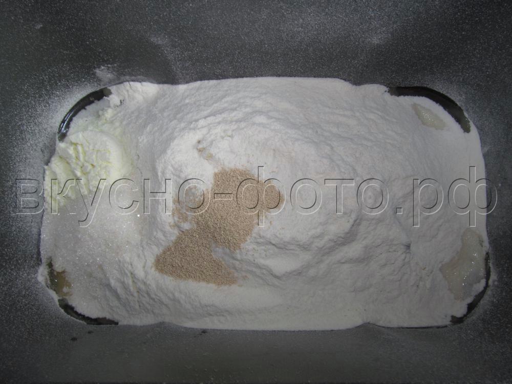 Хлеб с колбасой и сыром в хлебопечке VITEK VT-1991 ST