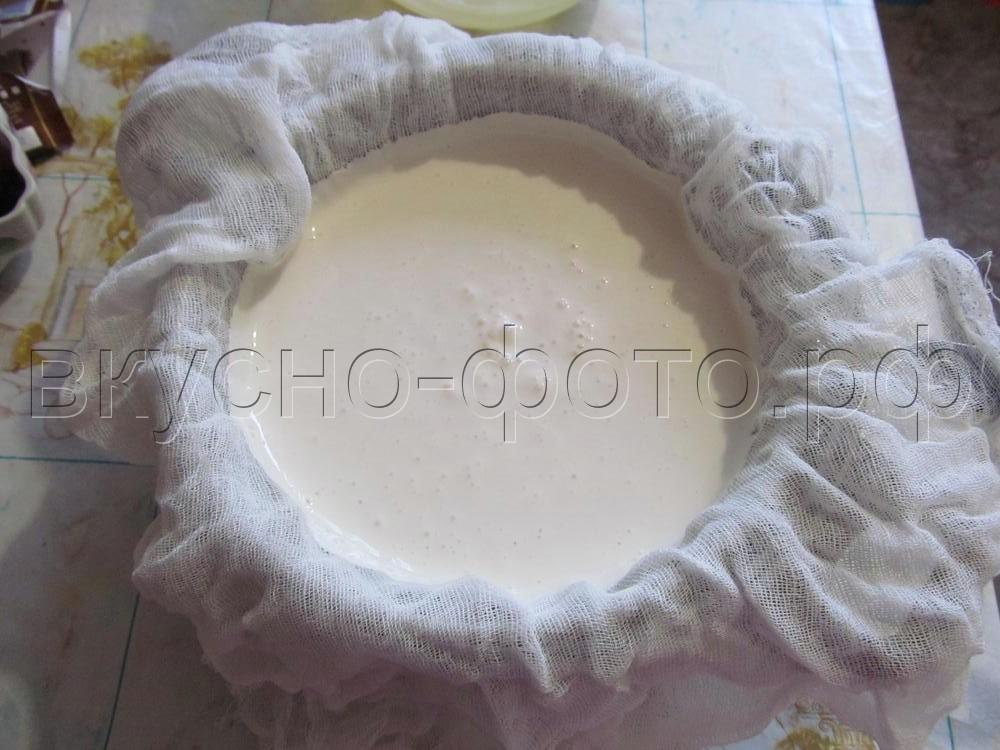 Домашний крем сыр