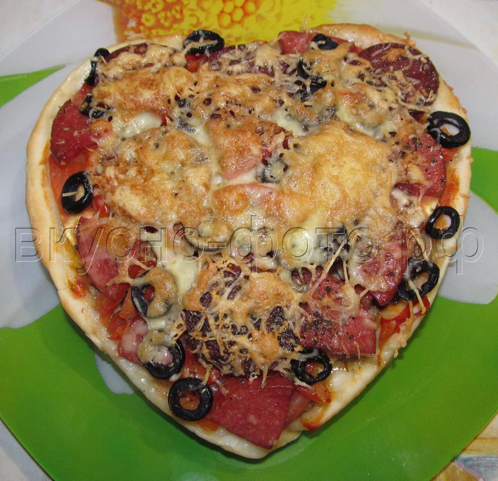 Пицца Валентинка