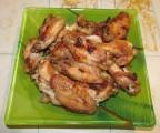 Куриные крылышки в майонезно чесночном соусе