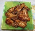 Куриные крылышки жаренные в кока-коле