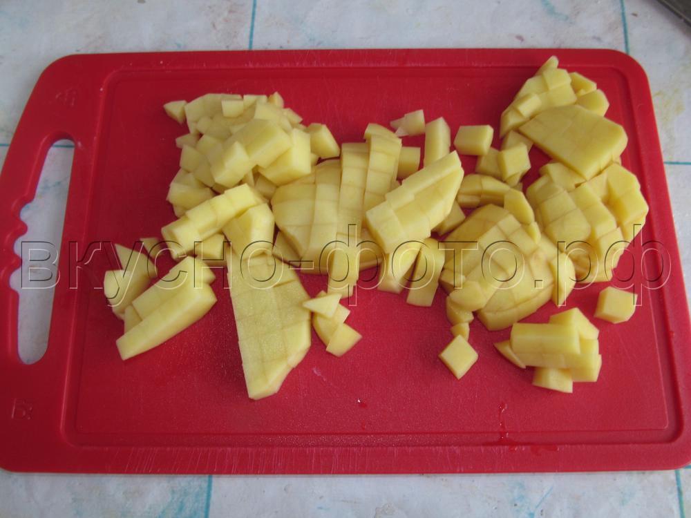 Омлет с картошкой