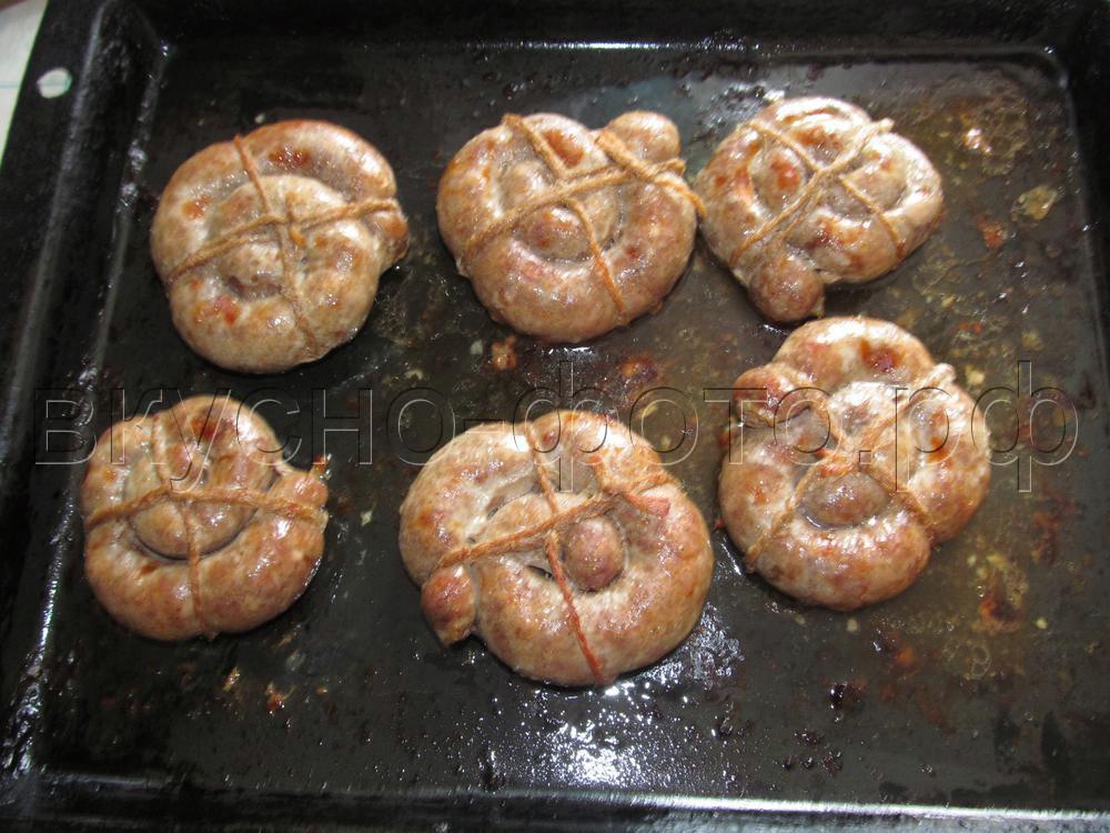Украинские жареные колбаски