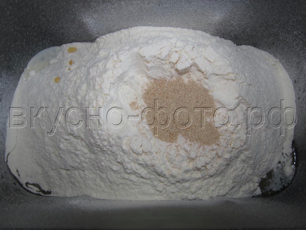Пирожковое тесто в хлебопечке VITEK VT-1991 ST