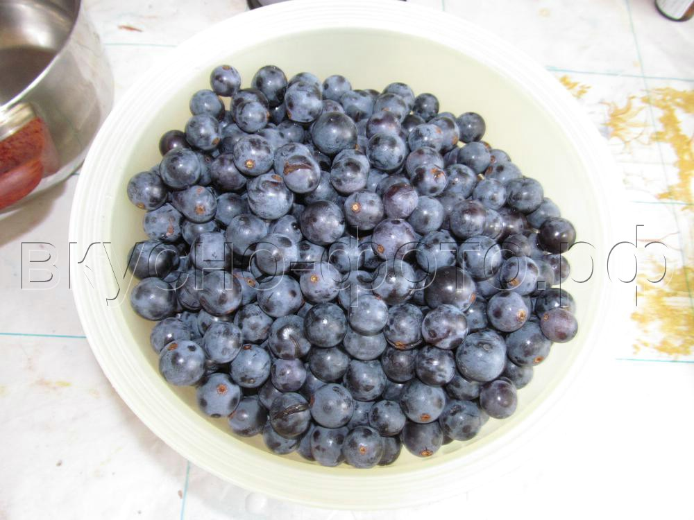 Джем из винограда Изабелла