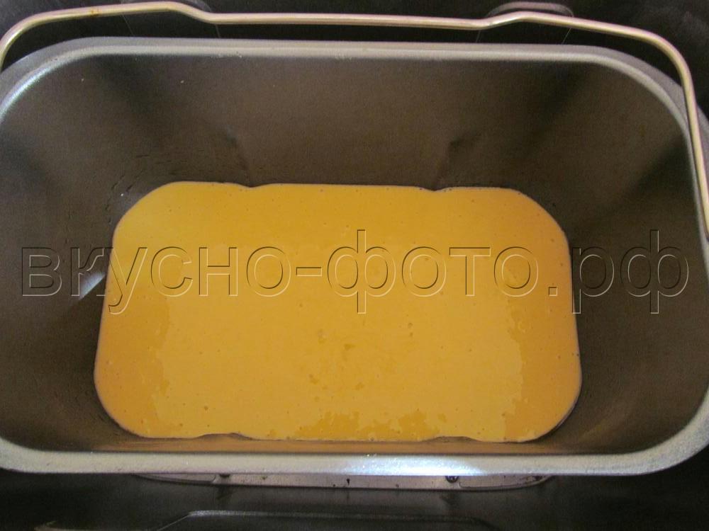 Кекс со сгущенным молоком в хлебопечке