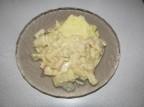 Кальмары в сметанном соусе с карри