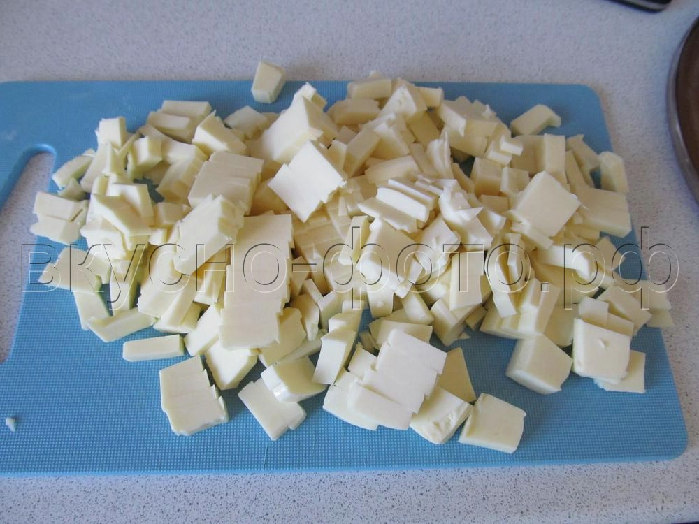 Сырный суп с фрикадельками