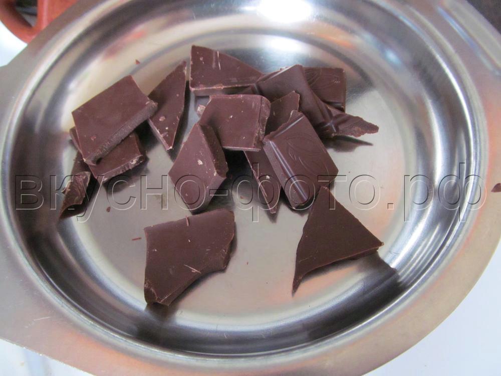 Рисовальная масса из шоколада