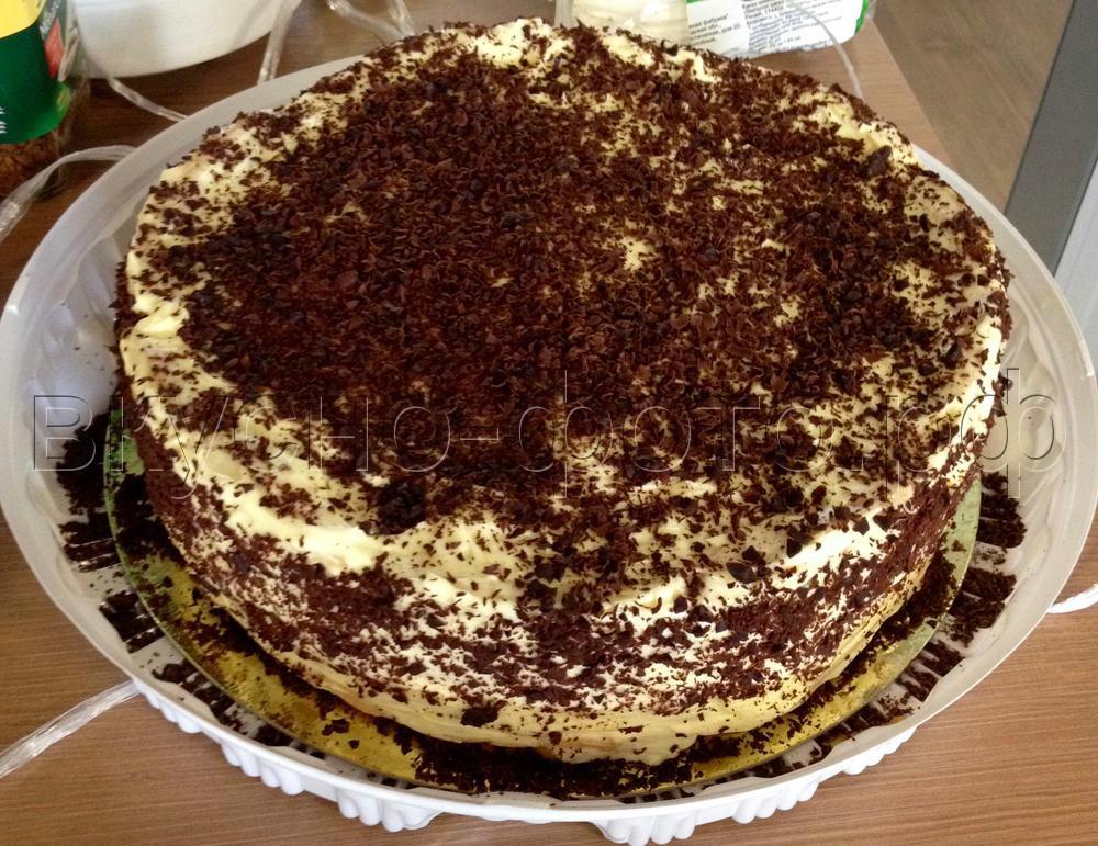 Торт Заварная нежность1