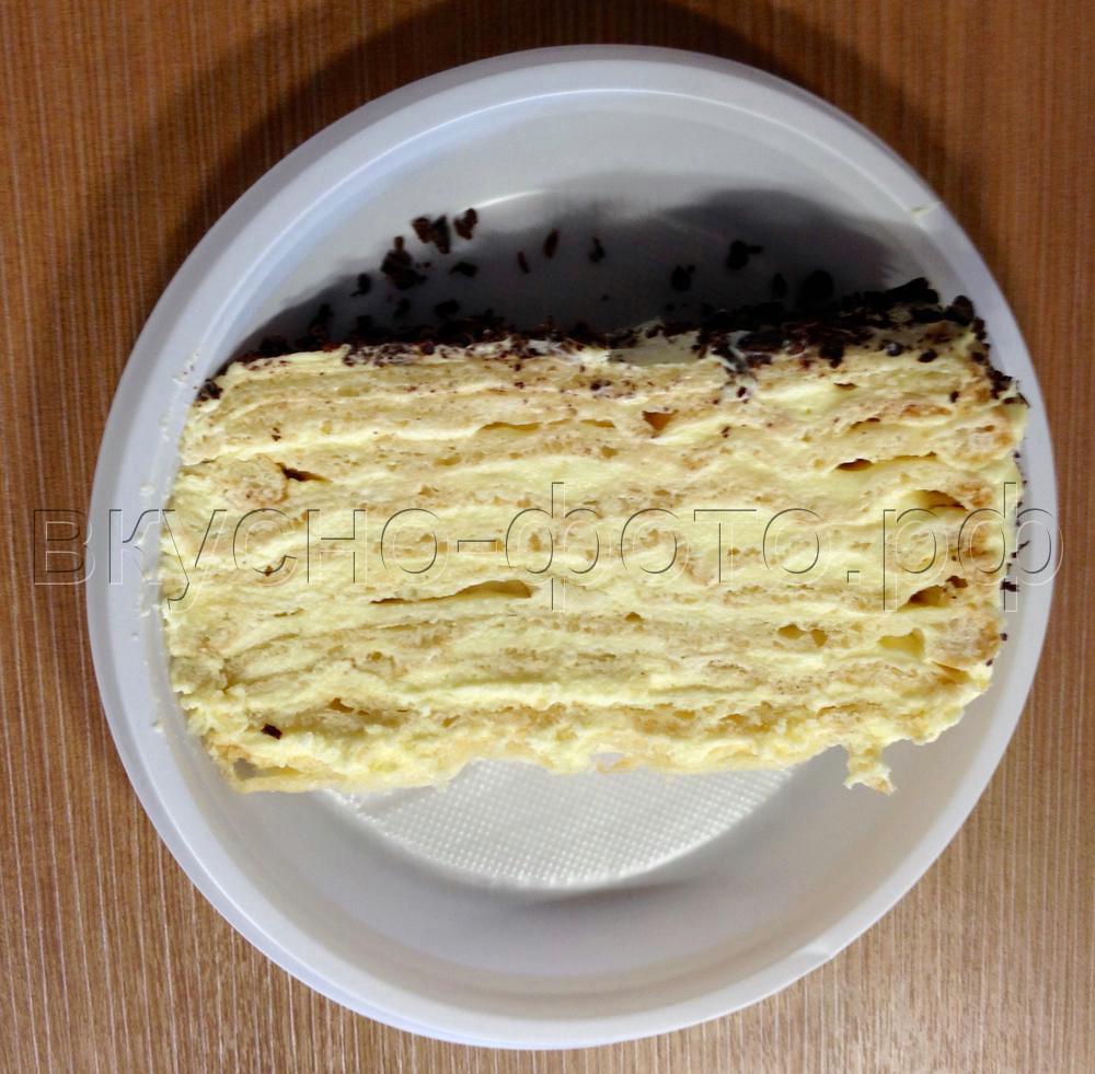 Торт Заварная нежность