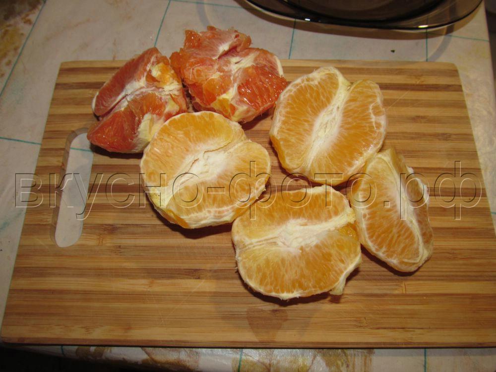 Варенье из ранеток с апельсинами