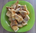 Жареное филе судака
