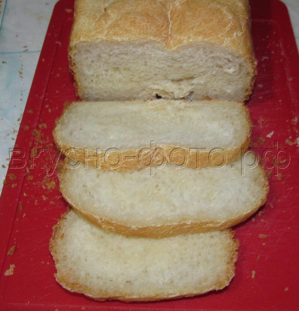 Белый хлеб на сыворотке в хлебопечке VITEK VT-1991 ST